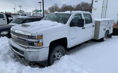 2019 Chevrolet Silverado 3500 6.6L Duramax, Allison Trans, 4×4 Utility